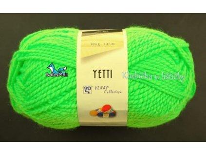 Vlnap Yetti 50012 - neonově zelená