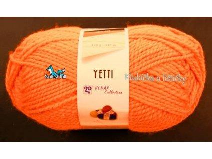 Vlnap Yetti 50011 - neonově oranžová