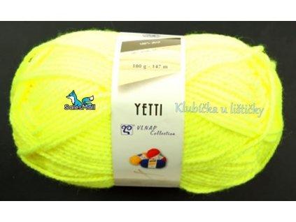 Vlnap Yetti 50010 - neonově žlutá