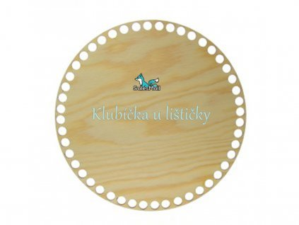 Dno na košík -borovice-kruh 20cm
