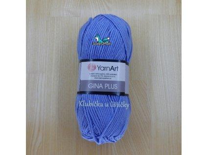 YarnArt Příze Gina Plus 15 - světle modrá