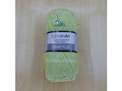 YarnArt Příze Gina Plus 11 - světle zelená