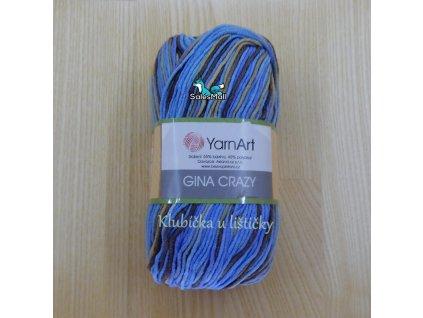 YarnArt Příze Gina Crazy 7202