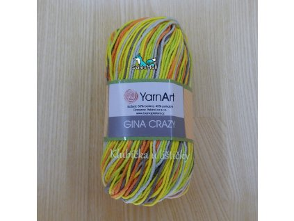YarnArt Příze Gina Crazy 7201