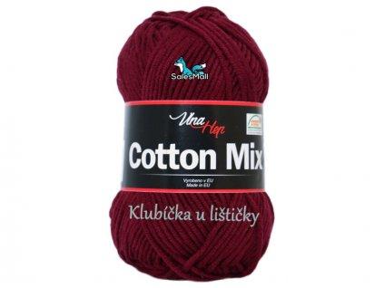 Vlna-Hep Cotton Mix 8024 -bordó