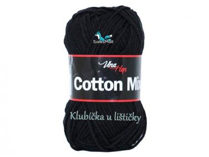 Vlna-hep Cotton Mix 8001 -černá
