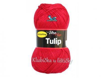 Vlna-Hep Tulip 4019-červená