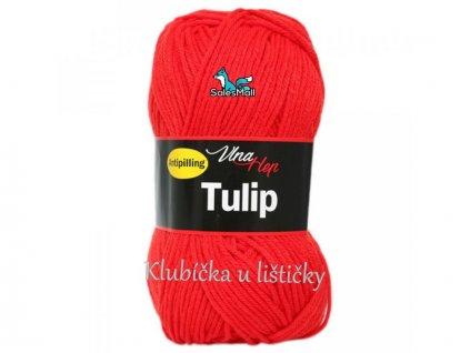 Vlna-Hep Tulip 4008-červená