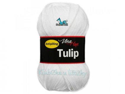 Vlna-Hep Tulip 4002-bílá