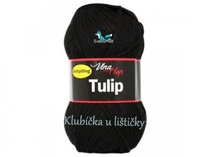 Vlna-Hep Tulip 4001-černá