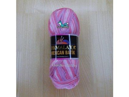 Himalaya Mercan Batik 59501 - růžový melír světlý