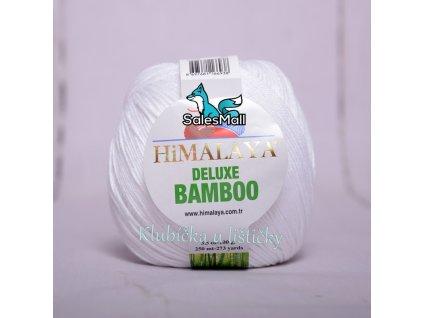 Himalaya Deluxe Bamboo 124-01 - bílá