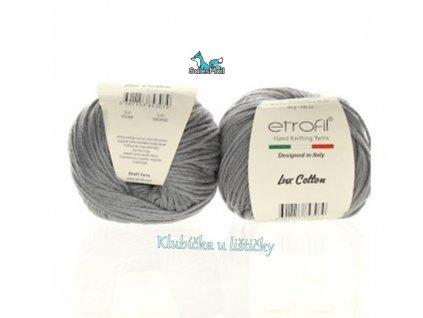 Etrofil Bambino Lux Cotton 70094 - šedá