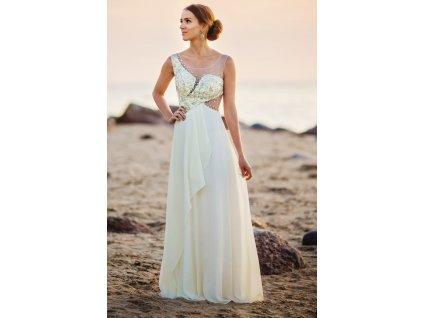 jasnobezowa suknia z kysztalk 30965