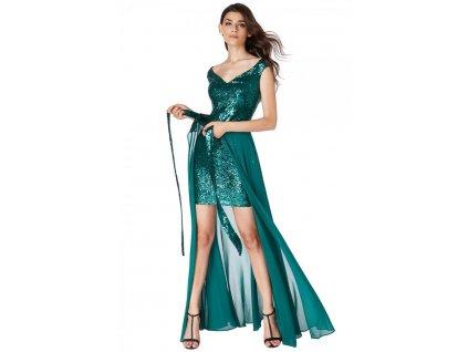 Flitrované šaty Sabina