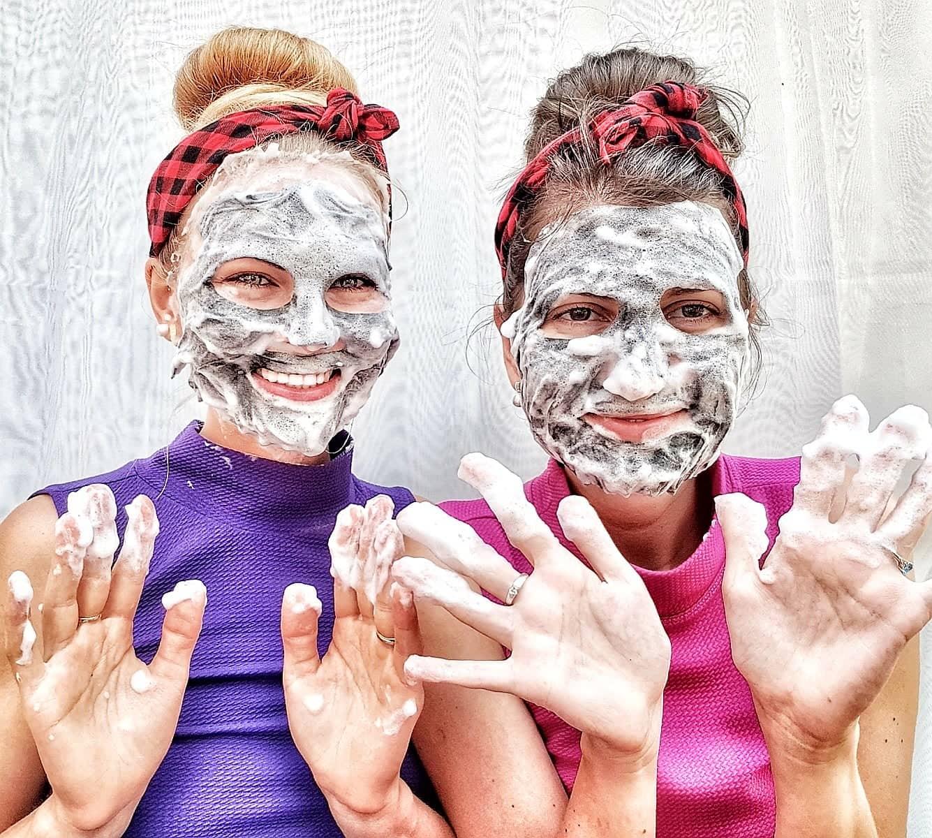 Bublinkové masky omlazují, čistí a rozzáří pleť