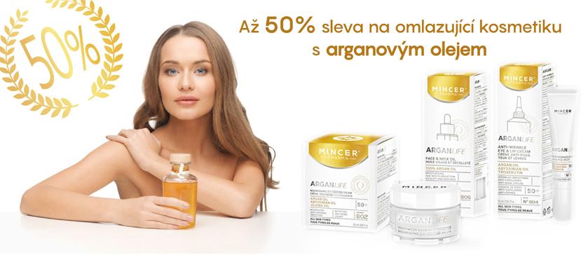 Až 50% sleva na kosmetiku s arganovým olejem