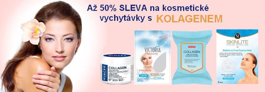 50% sleva na kosmetiku s kolagenem