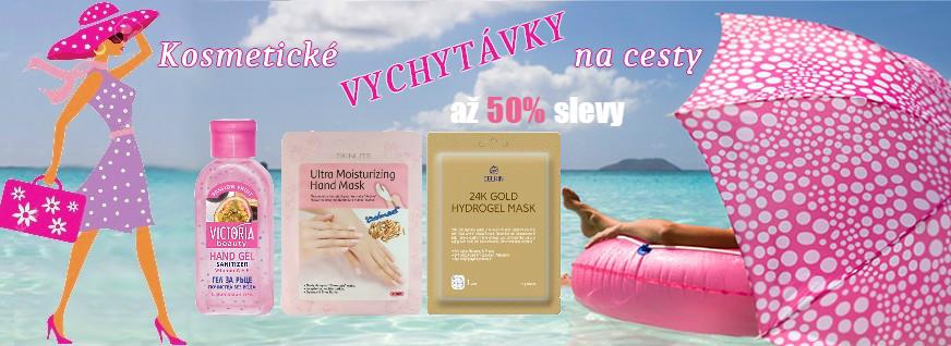 Kosmetické vychytávky do kufru - sleva až 50% !
