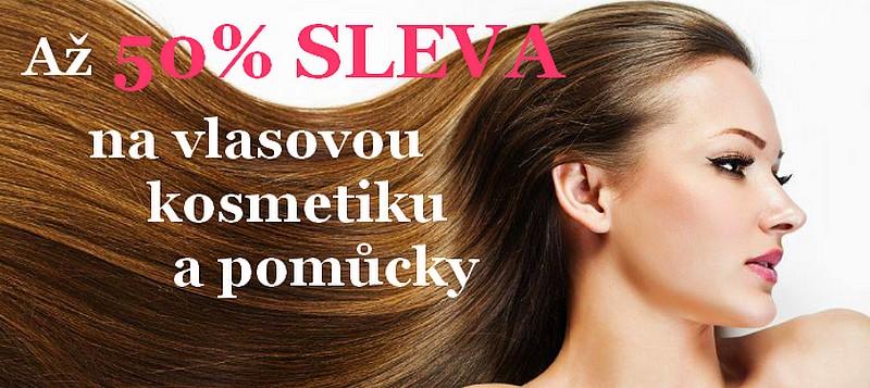 Akce týdne - až 50% SLEVA na VLASOVOUU kosmetiku a pomůcky