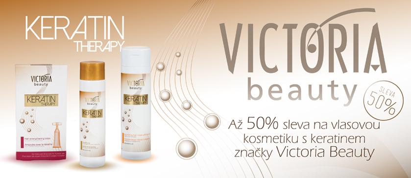 50% sleva na vlasovou kosmetiku s keratinem