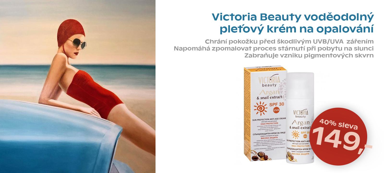 Victoria beauty Argan Ochranný krém SPF30