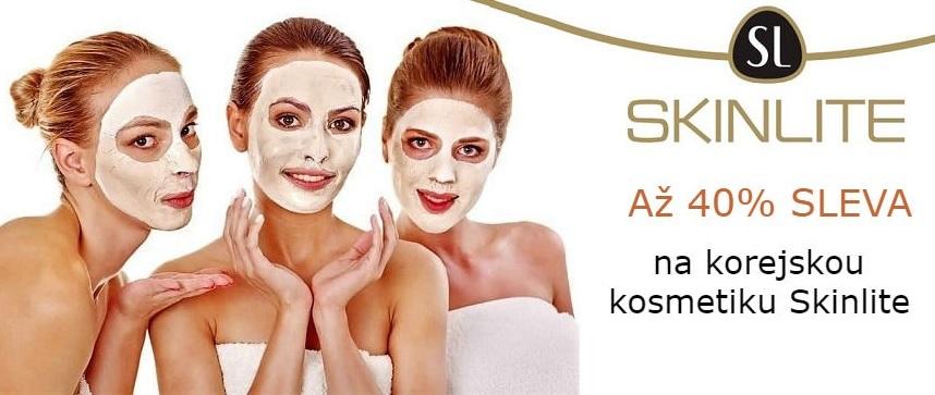 40% SLEVA na korejskou kosmetiku SKINLITE