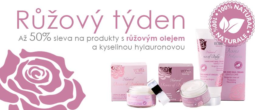 Kosmetika s růžovým olejem