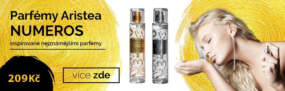 30% SLEVA na parfémy ARISTEA NUMEROS