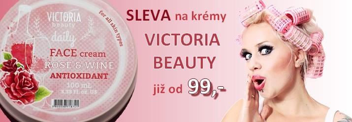 Sleva na pleťové krémy Victoria Beauty