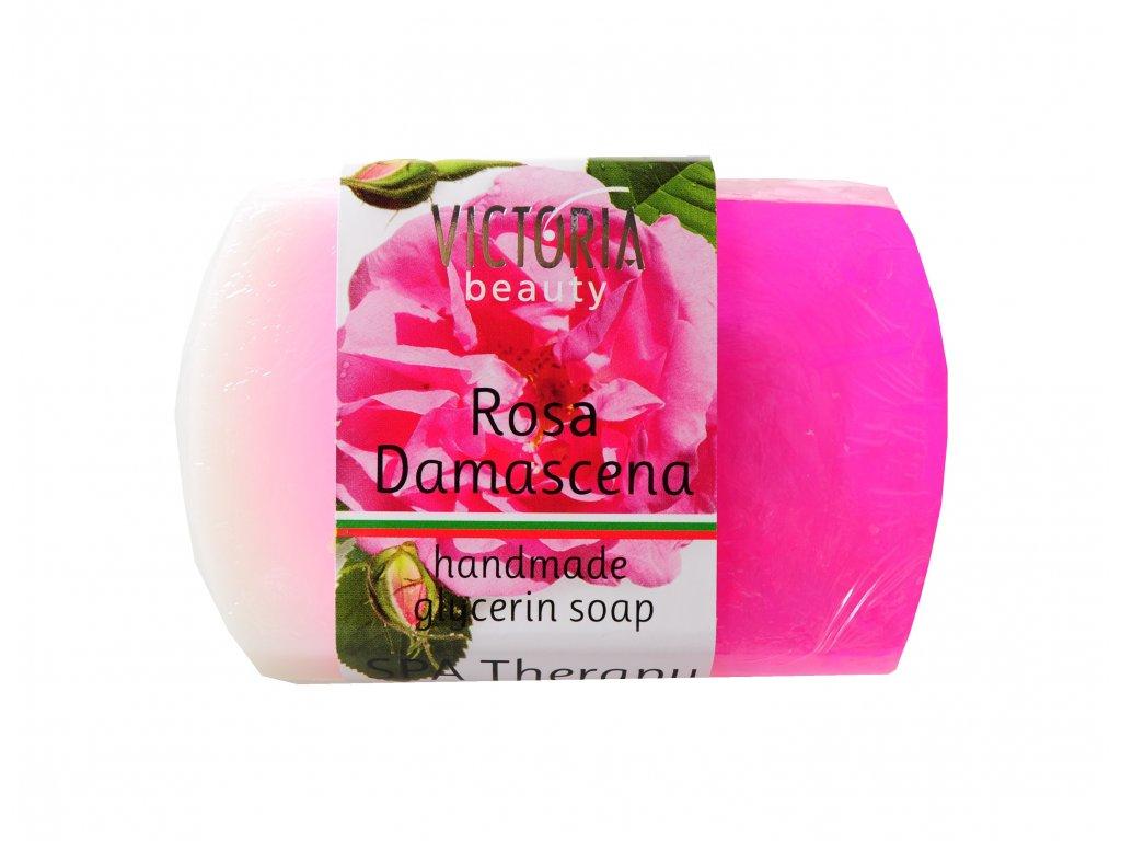 Victoria Beauty Glycerinové mýdlo Růže damašská 70g