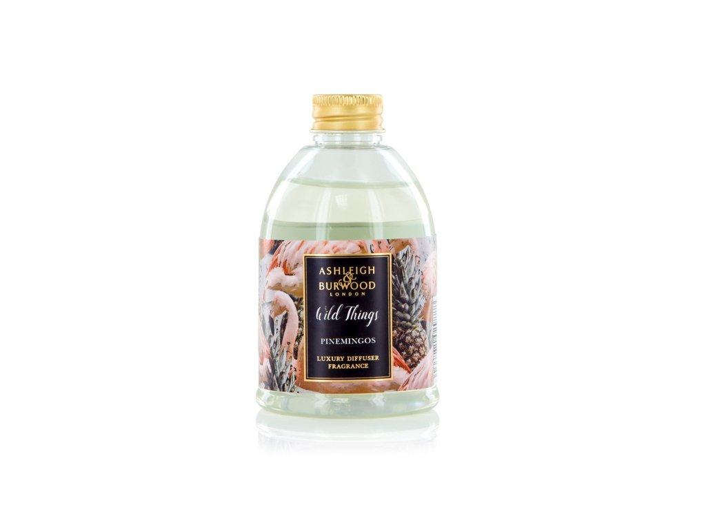 Ashleigh & Burwood Náhradní náplň do difuzéru WILD THINGS - COCONUT & LYCHEE (kokos a liči), 200 ml, PINEMINGOS