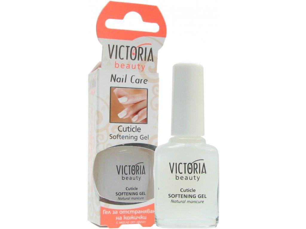 Victoria Beauty Nail Care Gel pro odstranění kůžičky okolo nehtu s arganovým olejem, 12ml