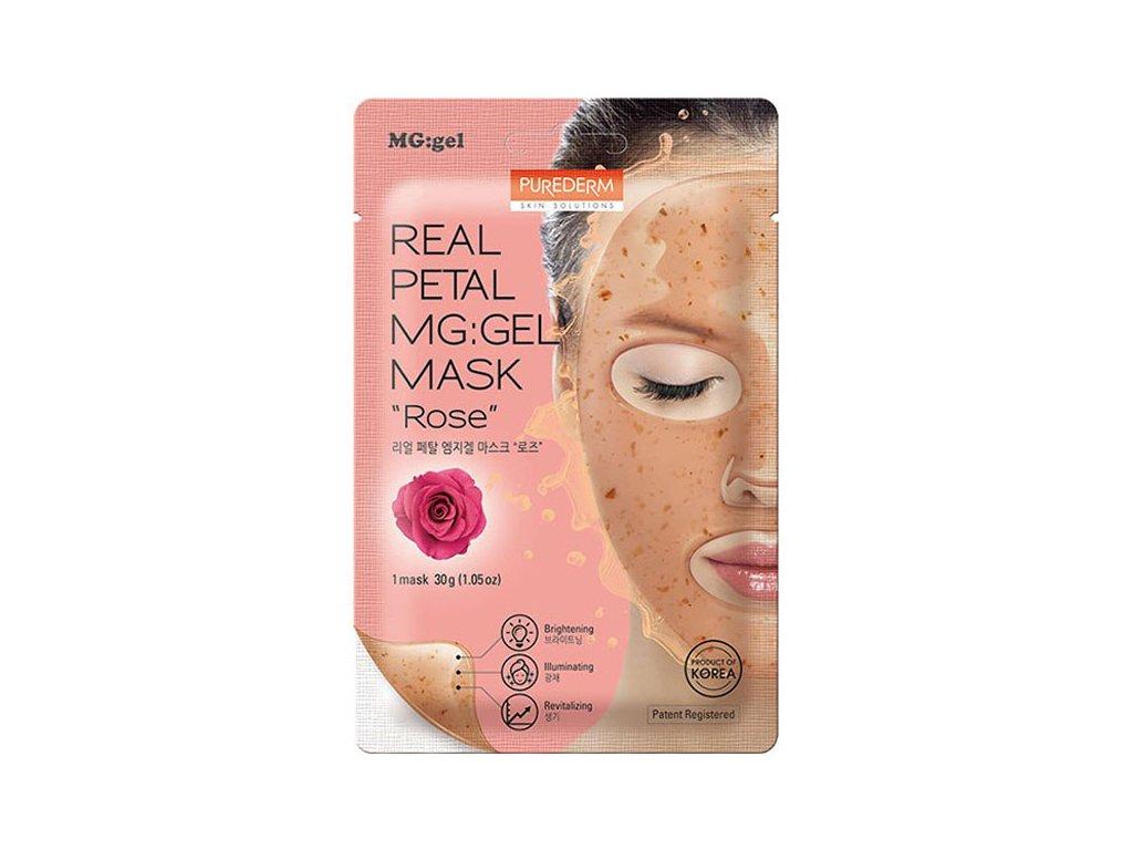 Purederm Real Petal MGGel Mask Rose