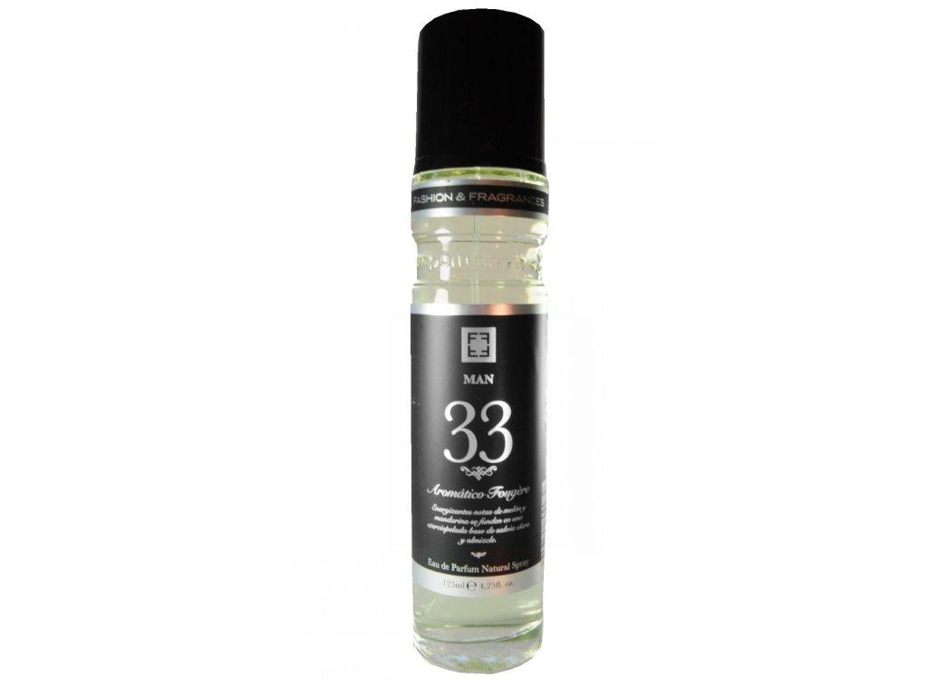 De Ruy Perfumes Eau de Parfum Kansas city Man 33, Aromático Fougére, 125 ml
