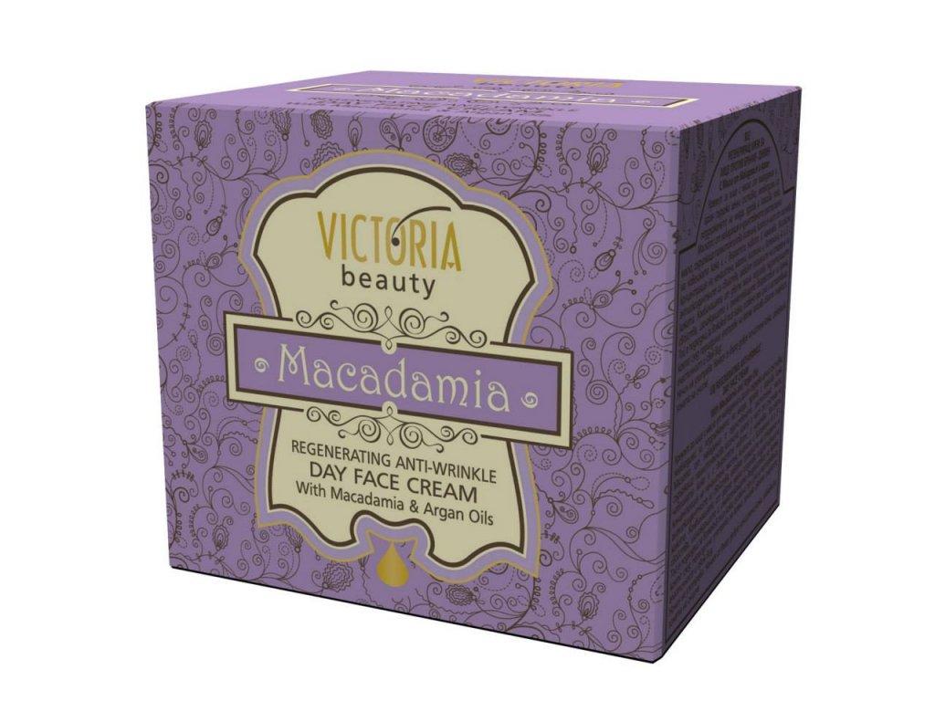 Victoria Beauty Macadamia Regenerační denní krém s makadamiovým olejem, 50 ml