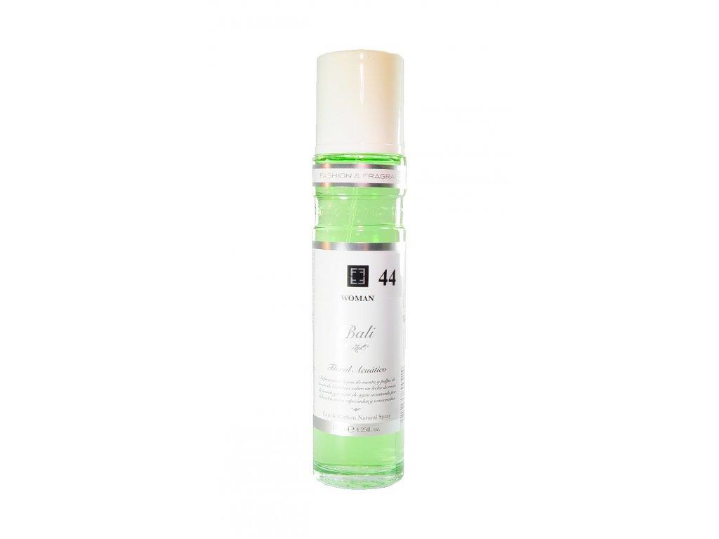 Eau de Parfum BALI WOMAN 44, Floral Acuático, 125 ml