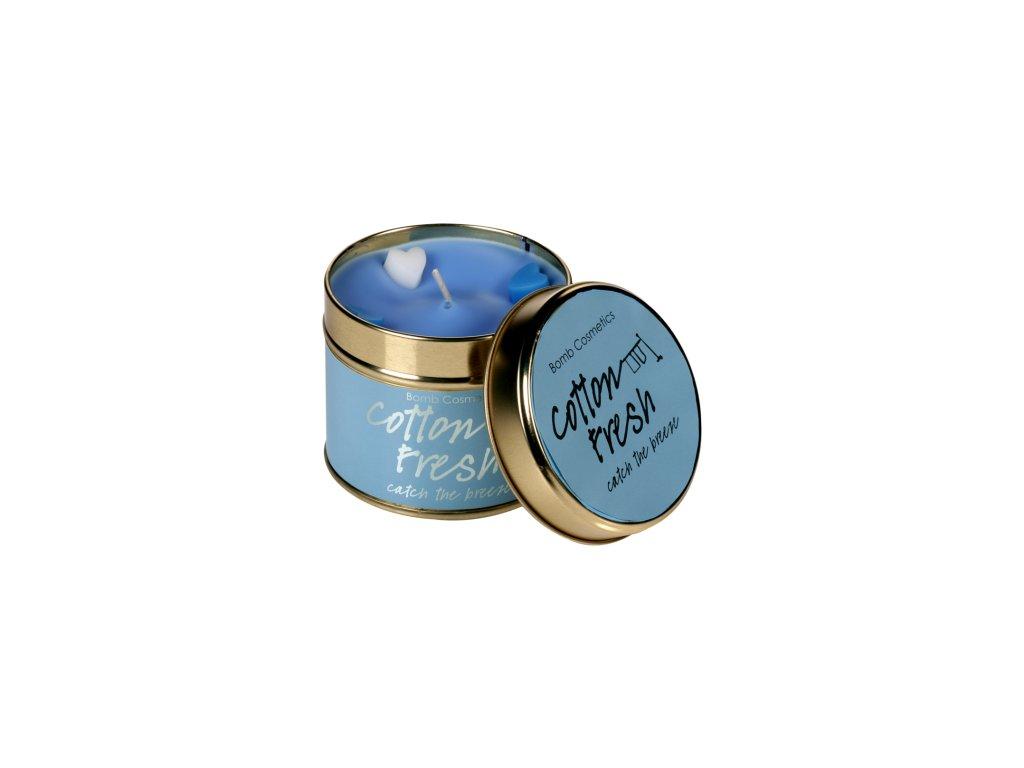 Bomb cosmetics vonná svíčka Čerstvá balvna, 35 hod