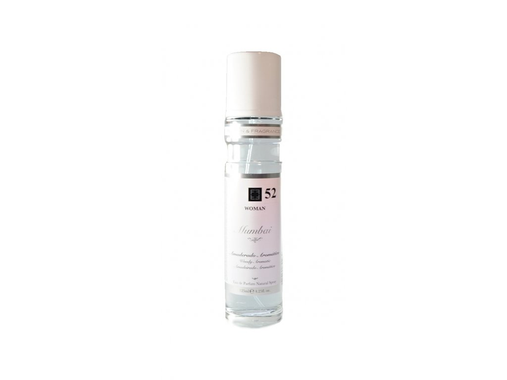De Ruy Perfumes Eau de parfum, Mumbai WOMAN 52, Amaderado Aromático, 125 ml