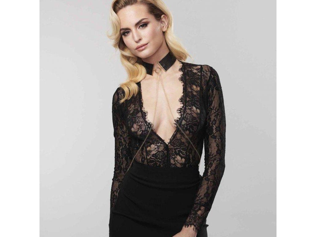 0144 De usir Metallique Collar Black E1 900x