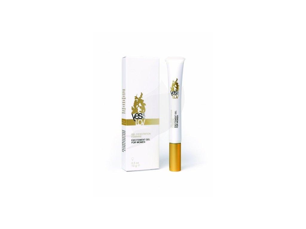 YESforLOV Vzrušivý gel pro ženy, 10 g