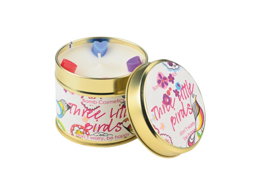 Bomb cosmetics Svíčka Tři ptáčci, 35 hod