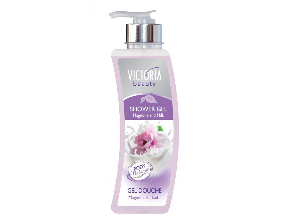 Victoria Beauty Sprchový gel Magnólie a mléko, 400 ml