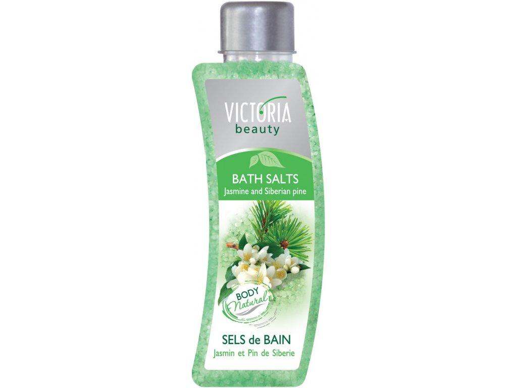 Victoria Beauty Koupelová sůl Jasmín a sibiřská borovice, 520 g