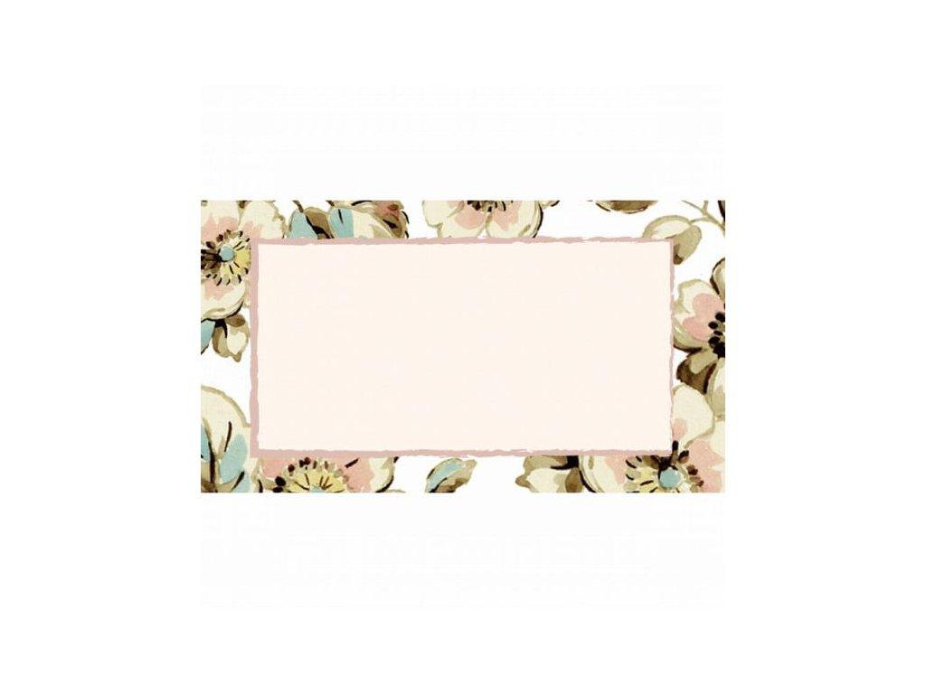 Creative Tops Dekorativní samolepky Cottage Flower, 24 ks