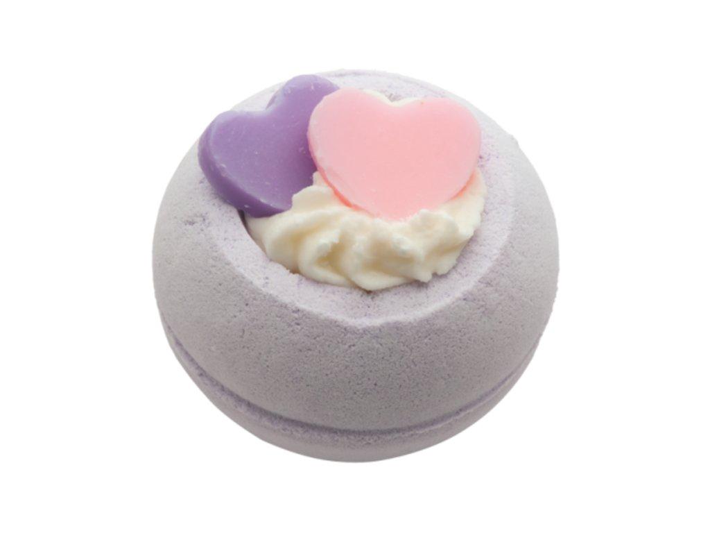 Bomb Cosmetics Koupelový balistik Dvě srdce, 160 g