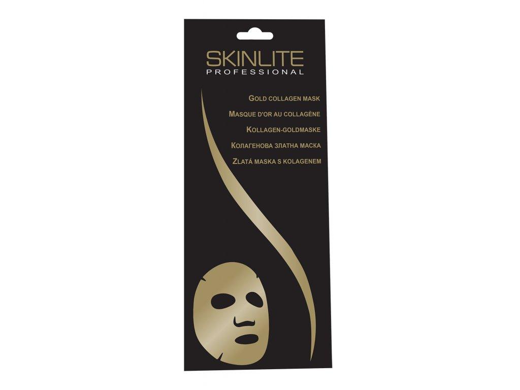 Skinlite Professional Zlatá kolagenová maska
