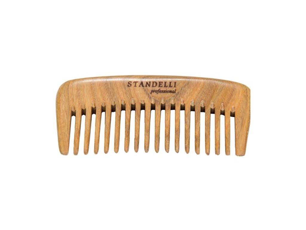 Standelli Professional Luxusní dřevěný hřeben na vlasy Paolo Santo