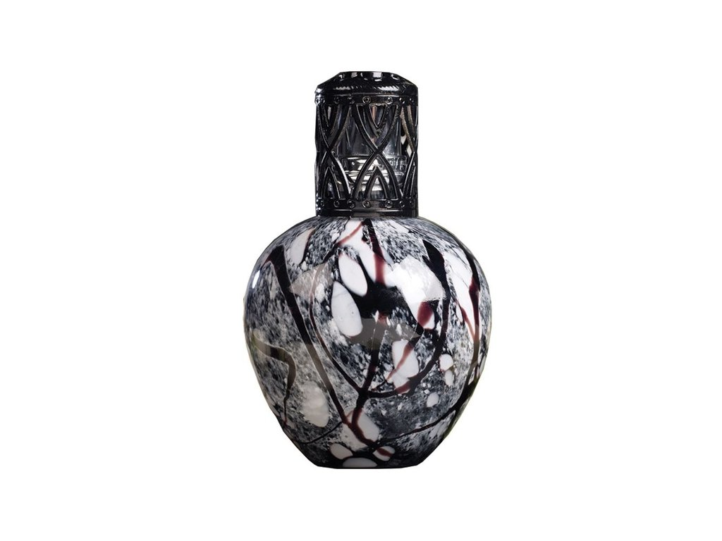 Ashleigh & Burwood Velká katalytická lampa BLACK MARBLE