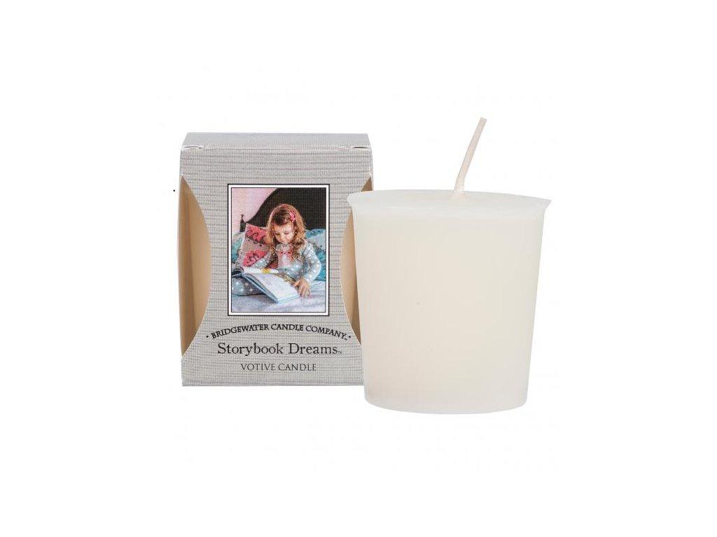 Bridgewater Candle Company Votivní Svíčka Storybook Dreams, 15 hodin